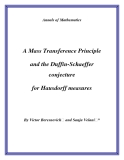 "Đề tài "" A Mass Transference Principle and the Duffin-Schaeffer conjecture for Hausdorff measures """