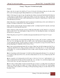 Bài tập Tài chính doanh nghiệp