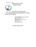 Luận Văn: Ứng Dụng Phương Pháp Tọa Độ Giải Một Số Bài Toán Hình Học Không Gian Về Góc và Khoảng Cách