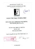 Luận Văn Động Học Quá Trình Hấp Thụ Khí SO2 Bằng Dung Dịch Na2CO3