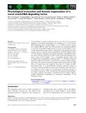 Báo cáo khoa học: Physiological truncation and domain organization of a novel uracil-DNA-degrading factor