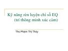 KỸ NĂNG RÈN LUYỆN CHỈ SỐ EQ (TRÍ THÔNG MINH XÚC CẢM)