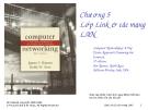 ComputerNetworking - Chương5 LớpLink&cácmạng LAN