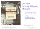 ComputerNetworking - Chương6 Cácmạngkhôngdây vàdiđộng