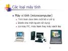 Phân loại máy tính