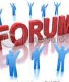 Forum - những điều cần biết