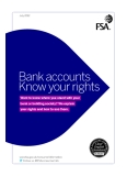 Bank accounts Know your rights