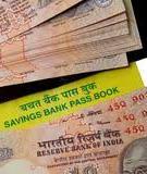 SAVINGS BANK ACCOUNTS