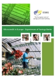 Microcredit in Europe - Experiences of Savings Banks