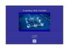 Technology Risk Checklist Version 7.3 MAY 2004