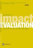 Handbook on Impact  Evaluation - Quantitative Methods and Practices