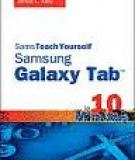 James Floyd Kelly  Sams Teach Yourself  Galaxy Tab ™  in 10 Minutes