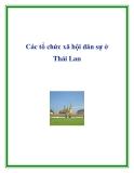 Các tổ chức xã hội dân sự ở Thái Lan