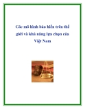 Mô hình bảo hiến trên thế giới và khả năng lựa chọn của Việt Nam