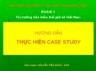 Module 1 Thị trường bảo hiểm thế giới và Việt Nam
