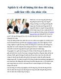 Nghịch lý về số lượng khi theo dõi năng suất làm việc của nhân viên