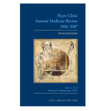Mayo Clinic Internal Medicine Review 2006-2007 SEVENTH EDITION