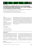 Báo cáo khoa học về: Cytoskeleton-modulating effectors of enteropathogenic and enterohemorrhagicEscherichia coli: a case for EspB as an intrinsically less-ordered effector