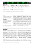 Báo cáo khoa học: Cytoskeleton-modulating effectors of enteropathogenic and enterohemorrhagicEscherichia coli: role of EspL2 in adherence and an alternative pathway for modulating cytoskeleton through Annexin A2 function