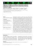 Báo cáo khoa học: Exposure of IgG to an acidic environment results in molecular modifications and in enhanced protective activity in sepsis