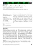 Báo cáo khoa học:  Mixed lineage leukemia: histone H3 lysine 4 methyltransferases from yeast to human