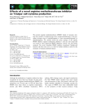 Báo cáo khoa học: Effects of a novel arginine methyltransferase inhibitor on T-helper cell cytokine production
