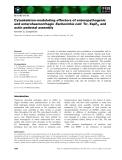 Báo cáo khoa học: Cytoskeleton-modulating effectors of enteropathogenic and enterohaemorrhagic Escherichia coli: Tir, EspFU and actin pedestal assembly