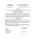 Quyết định số 2039/QĐ-UBND