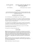 Quyết định số 6534/QĐ-BCT