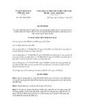 Quyết định số 1887/QĐ-UBND
