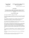 Quyết định số 3598/QĐ-UBND