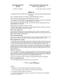 Thông tư số 30/2012/TT-NHNN