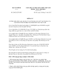 Thông tư số 206/2012/TT-BTC