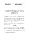 Quyết định số 3325/QĐ-UBND