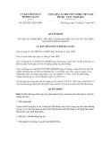 Quyết định số 2589/2012/QĐ-UBND