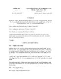 Nghị quyết số 99/2012/NĐ-CP