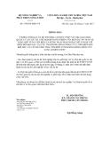 Thông báo số 5768/TB-BNN-VP