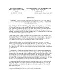 Thông báo số 5823/TB-BNN-TTr