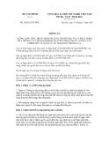 Thông tư số 205/2012/TT-BTC