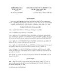 Quyết định số 36/2012/QĐ-UBND