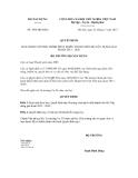 Quyết định số 1056/QĐ-BXD