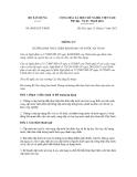 Thông tư số 08/2012/TT-BXD