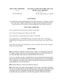 Quyết định số 1671/QĐ-TTg