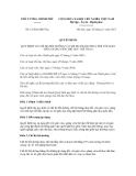 Quyết định số 51/2012/QĐ-TTg
