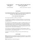 Quyết định số 4475/QĐ-UBND