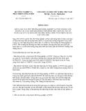 Thông báo số 5728/TB-BNN-VP