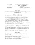 Quyết định số 3709/QĐ-BTP