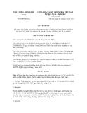 Quyết định số 1649/QĐ-TTg