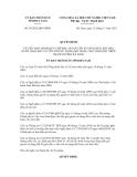 Quyết định số 28/2012/QĐ-UBND