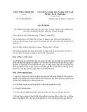 Quyết định số 52/2012/QĐ-TTg